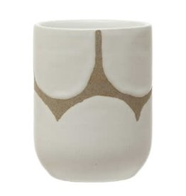 Hand-Painted Stoneware Cup