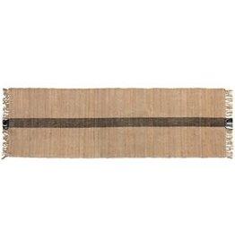 Floor Runner with Black Stripe