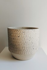 Spotted Beige Pot Cover