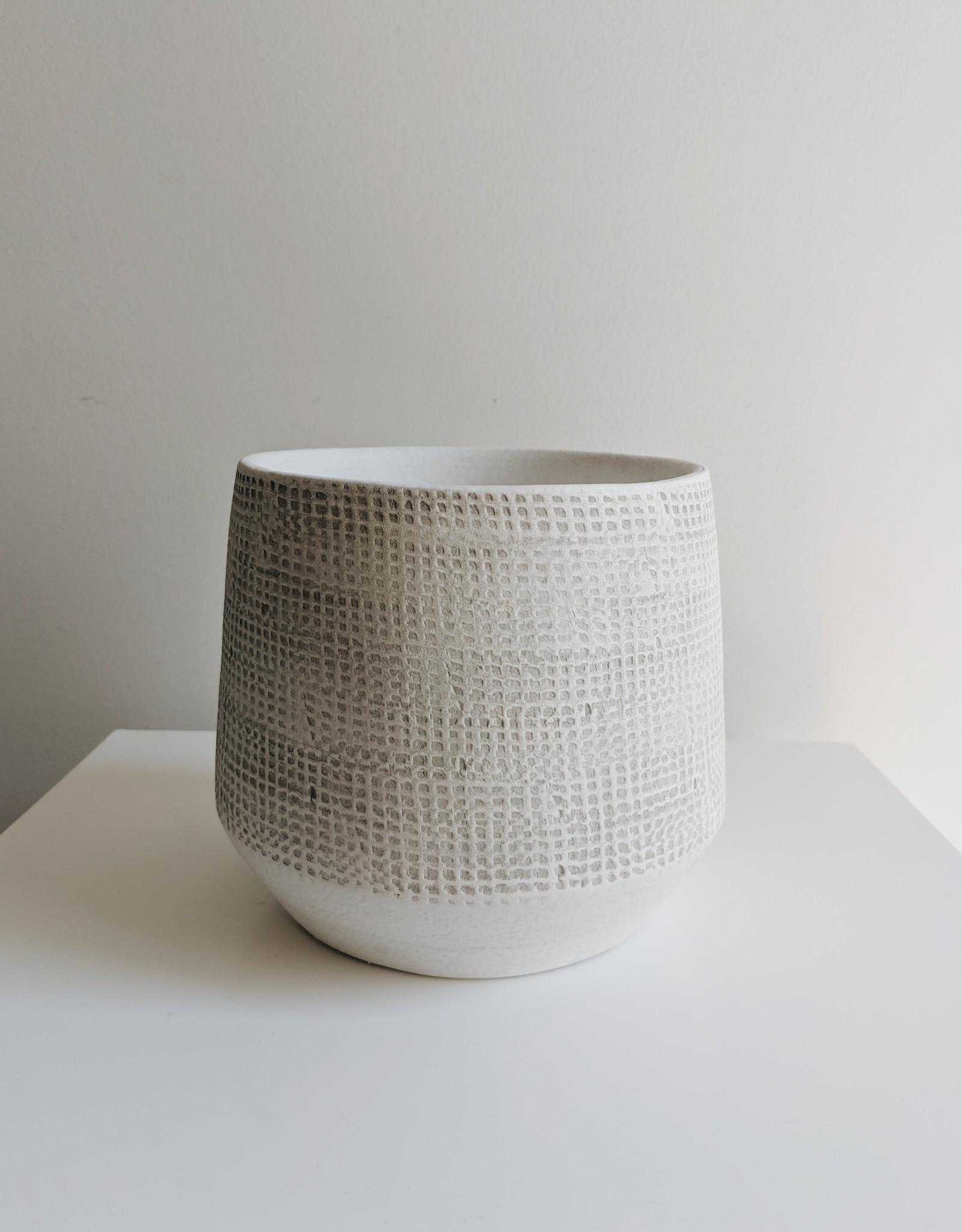 Off White Pot Cover