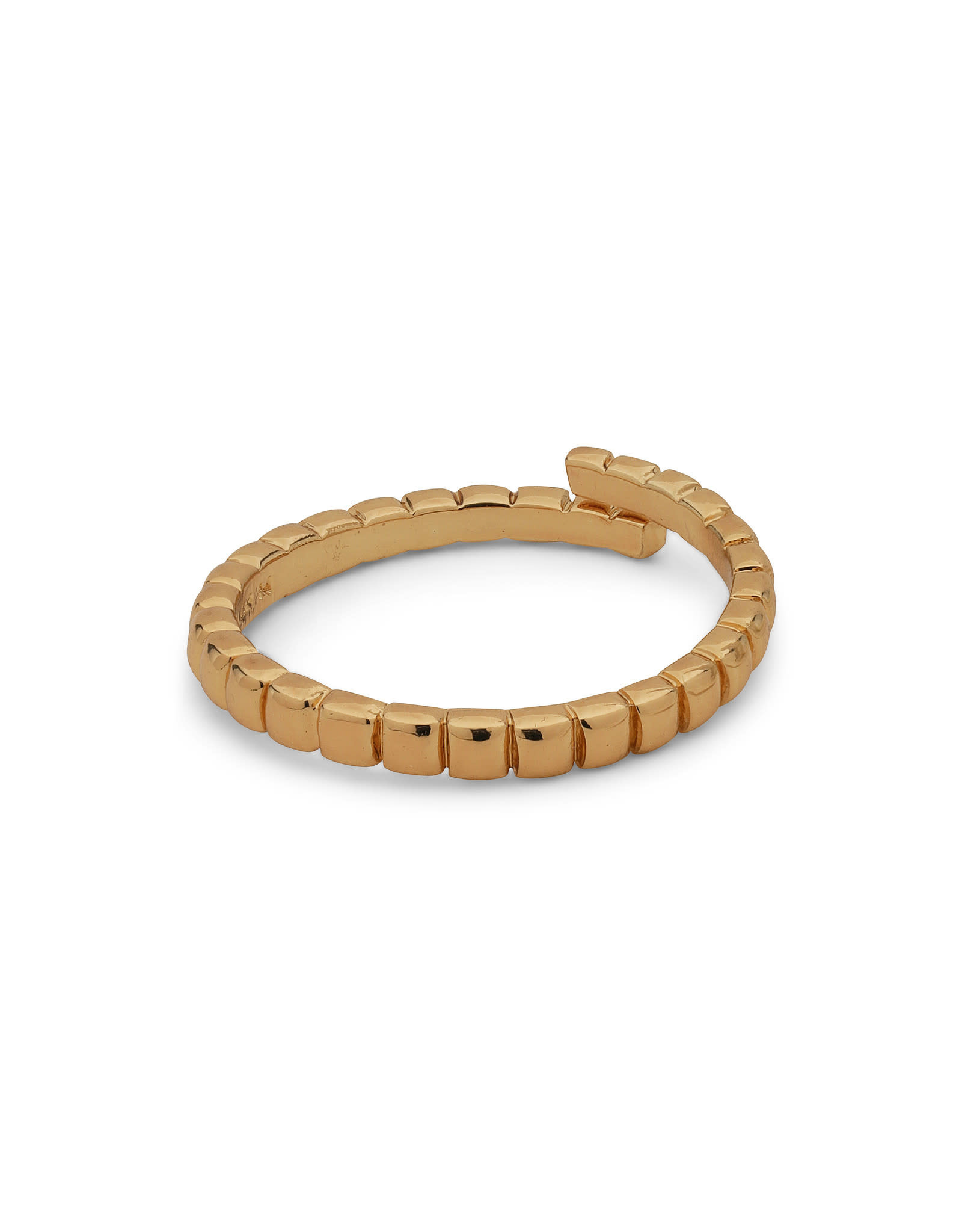 Pilgrim Ring Lulu Cube - Gold