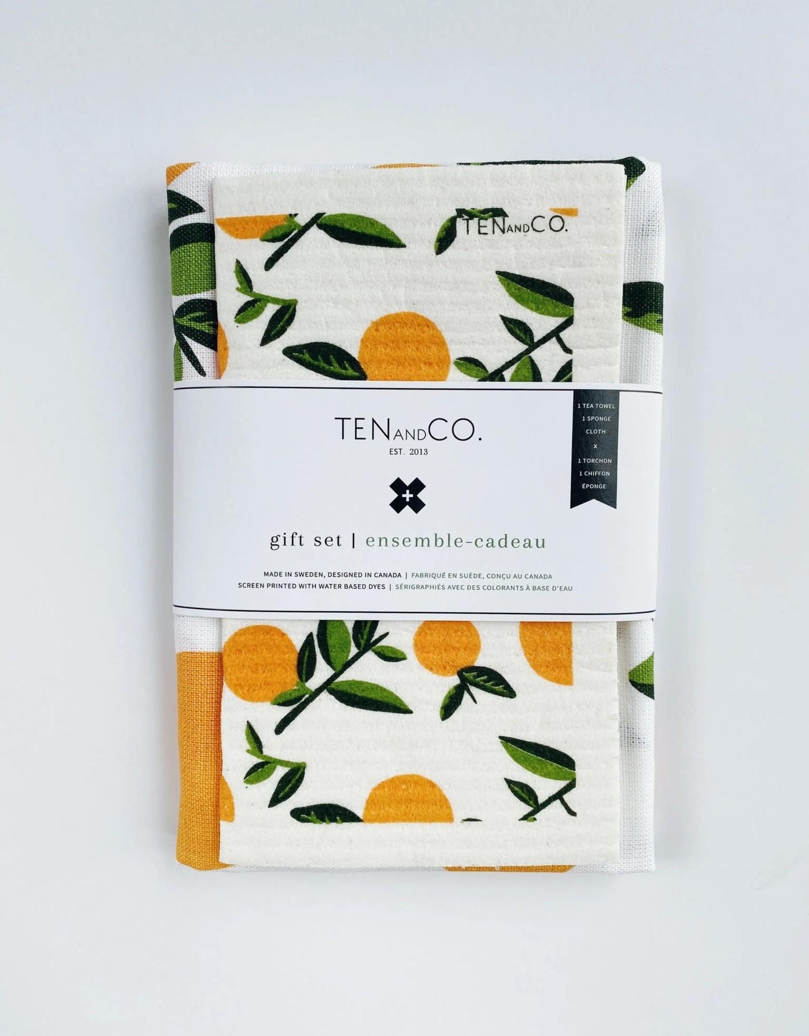 Ensemble-Cadeau - Orange Citrus
