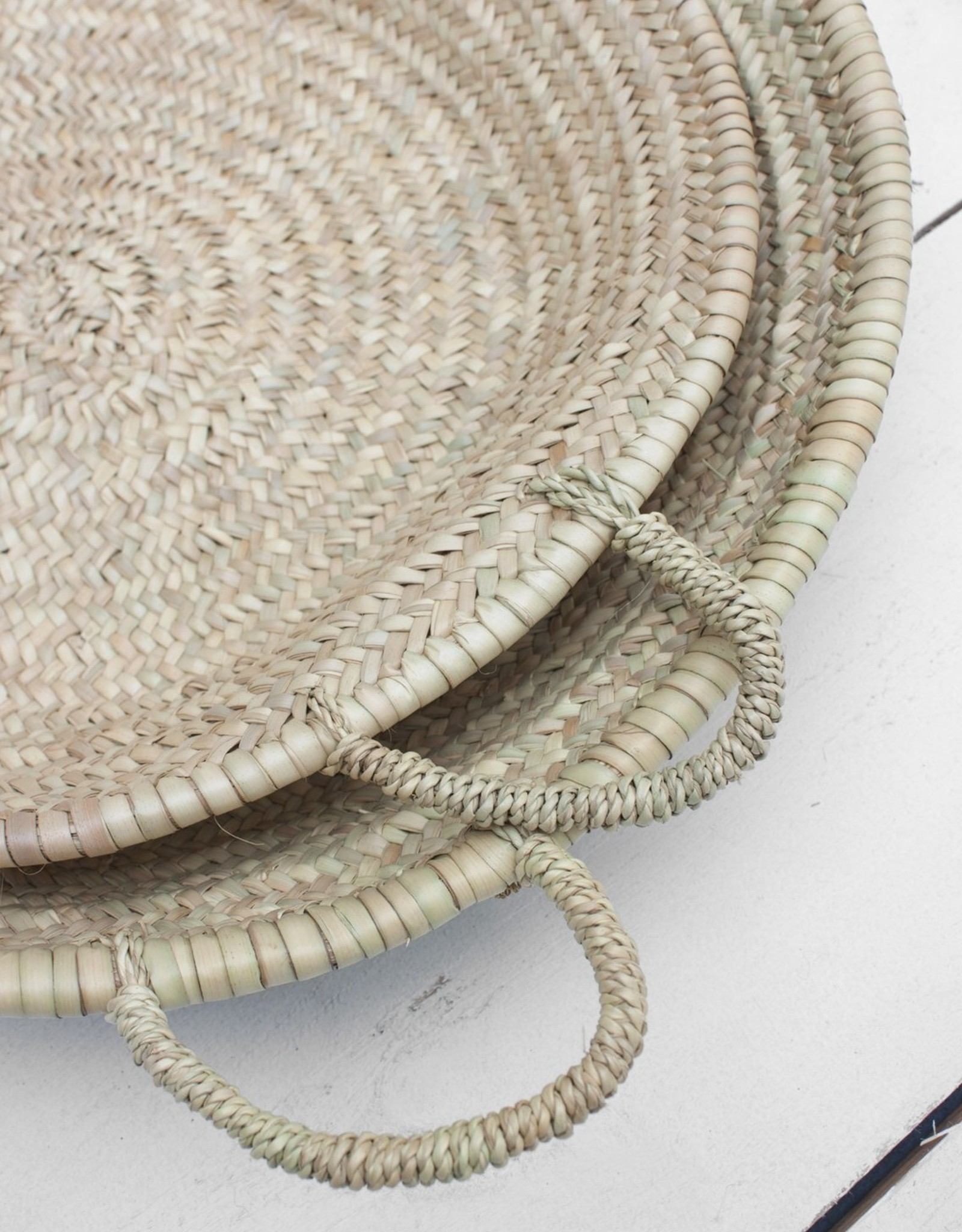 Morrocan Oversized Woven Plate