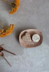 Walnut Wood Soap Dish