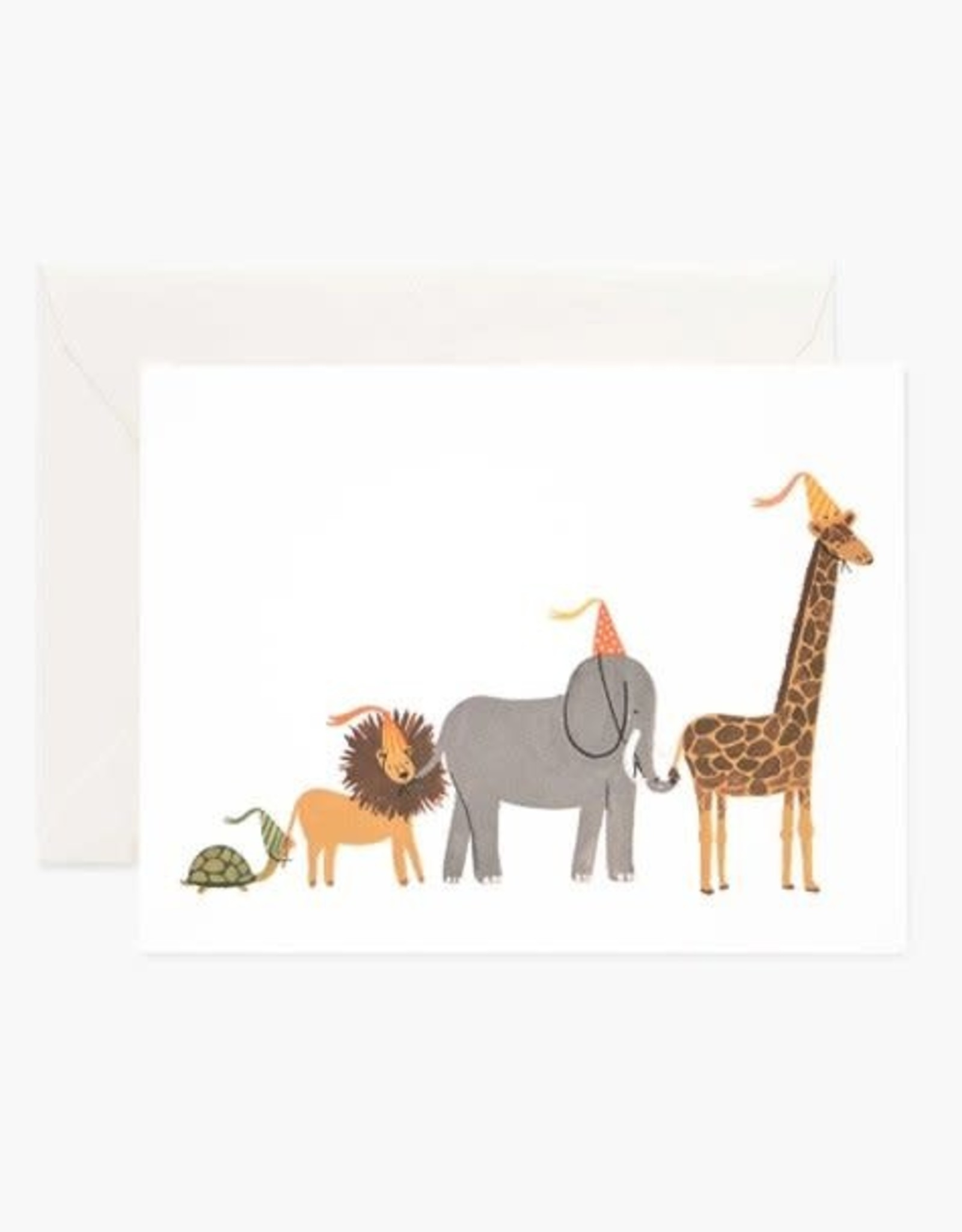 Rifle Paper Co. Carte Parade Animaux