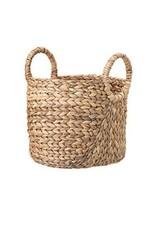 Hand-Woven Seagrass Baskets w/ Round Handles