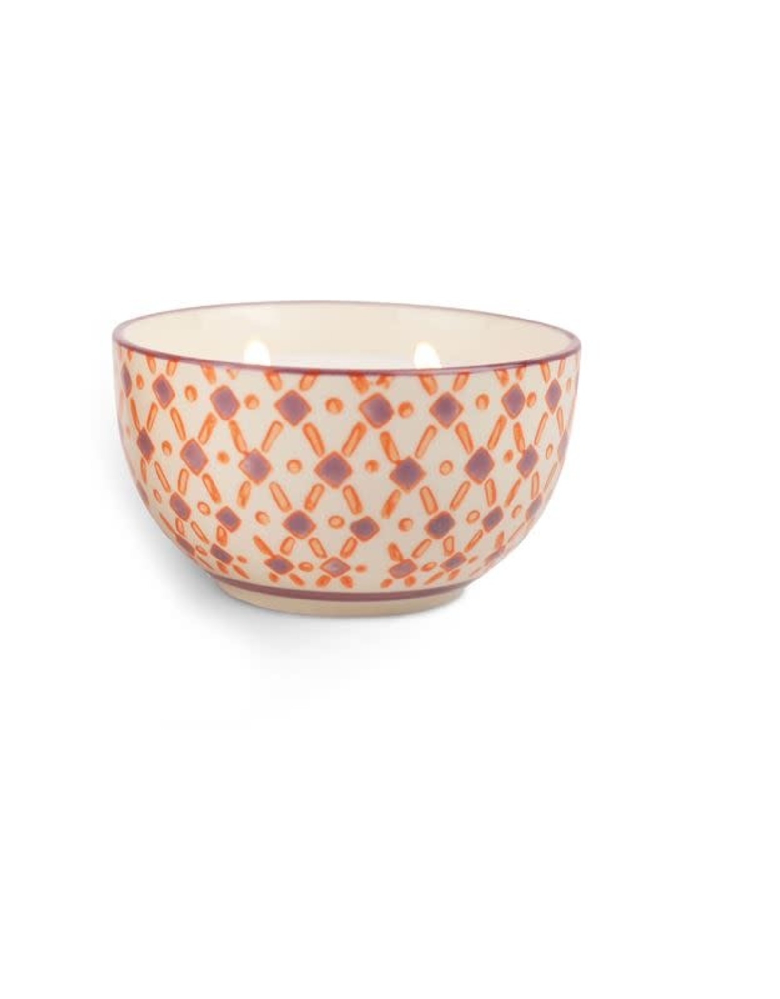 Boheme 7oz Hand Painted Bowl - Pink Pepper & Pomelo