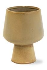 Vase en Grès - Couleur Khaki