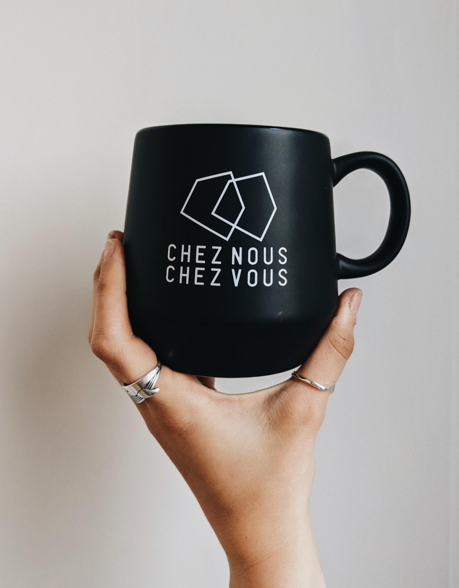 CHEZ NOUS CHEZ VOUS Mug Chez Nous Chez Vous