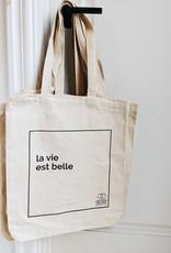 CHEZ NOUS CHEZ VOUS Reusable Bag Chez Nous Chez Vous