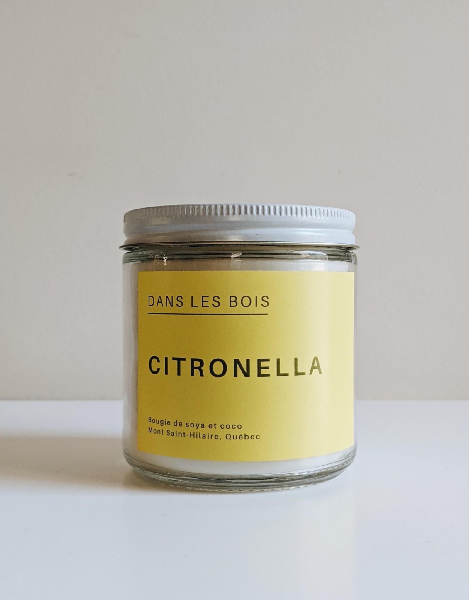 Dans les Bois Bougie Citronella - 16oz