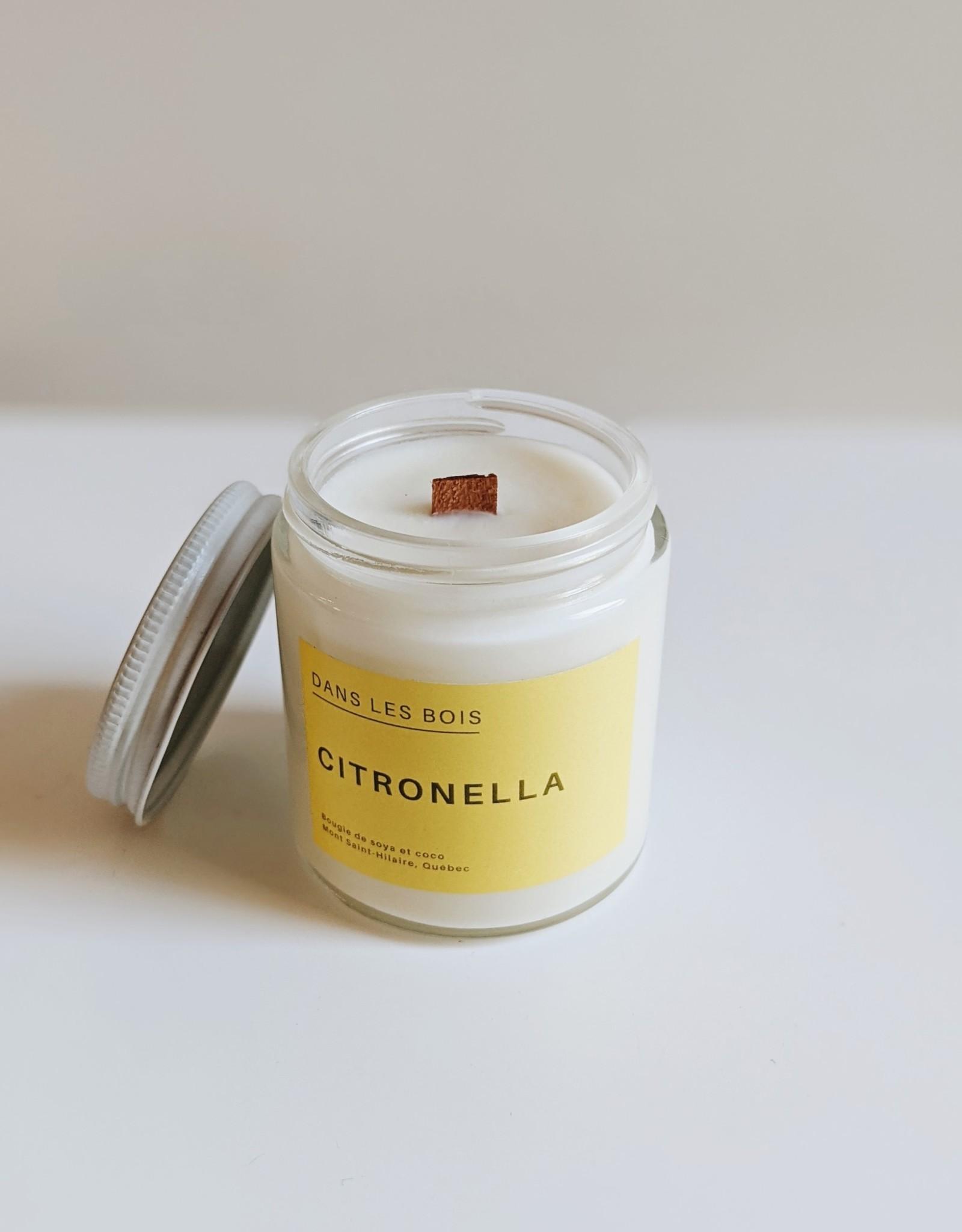Dans les Bois Citronella Candle- 4oz
