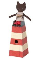 Sauveteur, Tower with cat