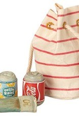 Bag with Beach Essentials
