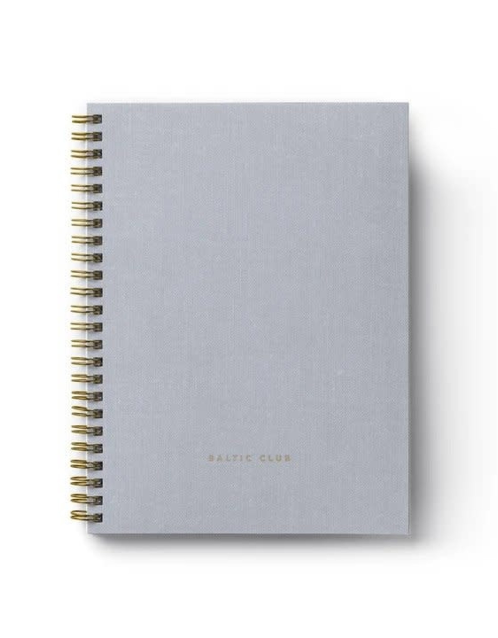 Baltic Club Cloth Spiral Notebook - Lined