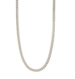 Pilgrim Necklace Fuchsia - Silver Plated