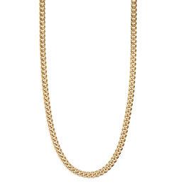 Pilgrim Necklace Fuchsia - Gold Plated