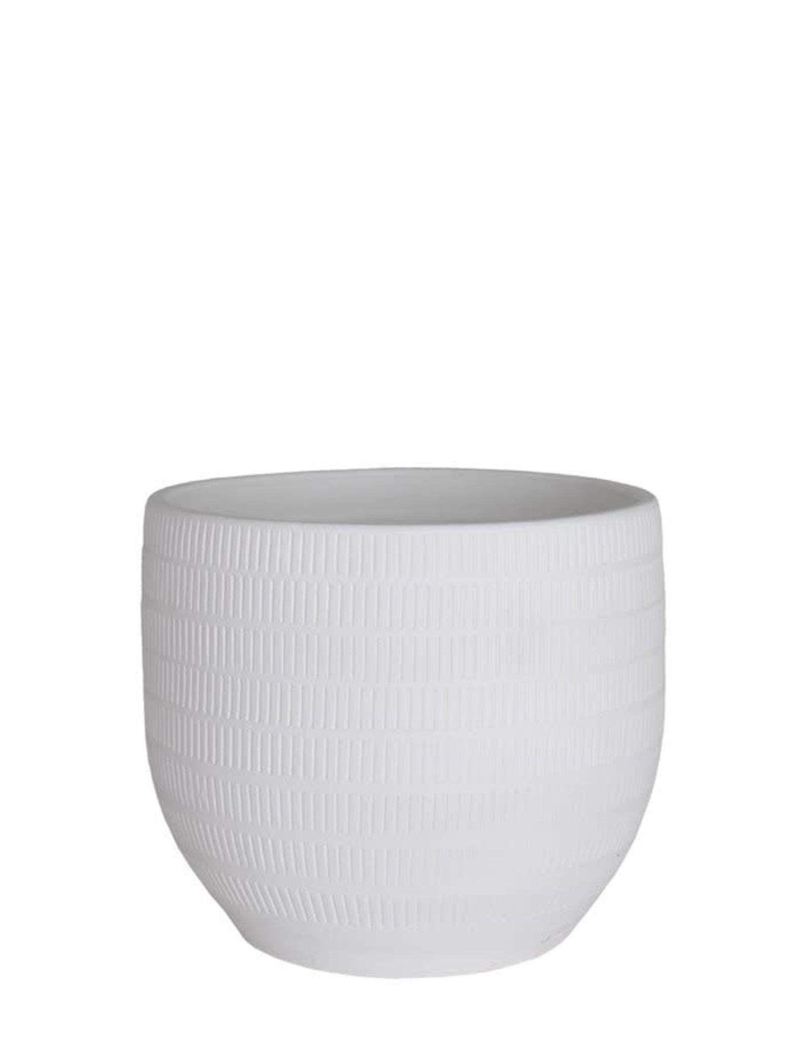 Aura Pot White - 20 cm