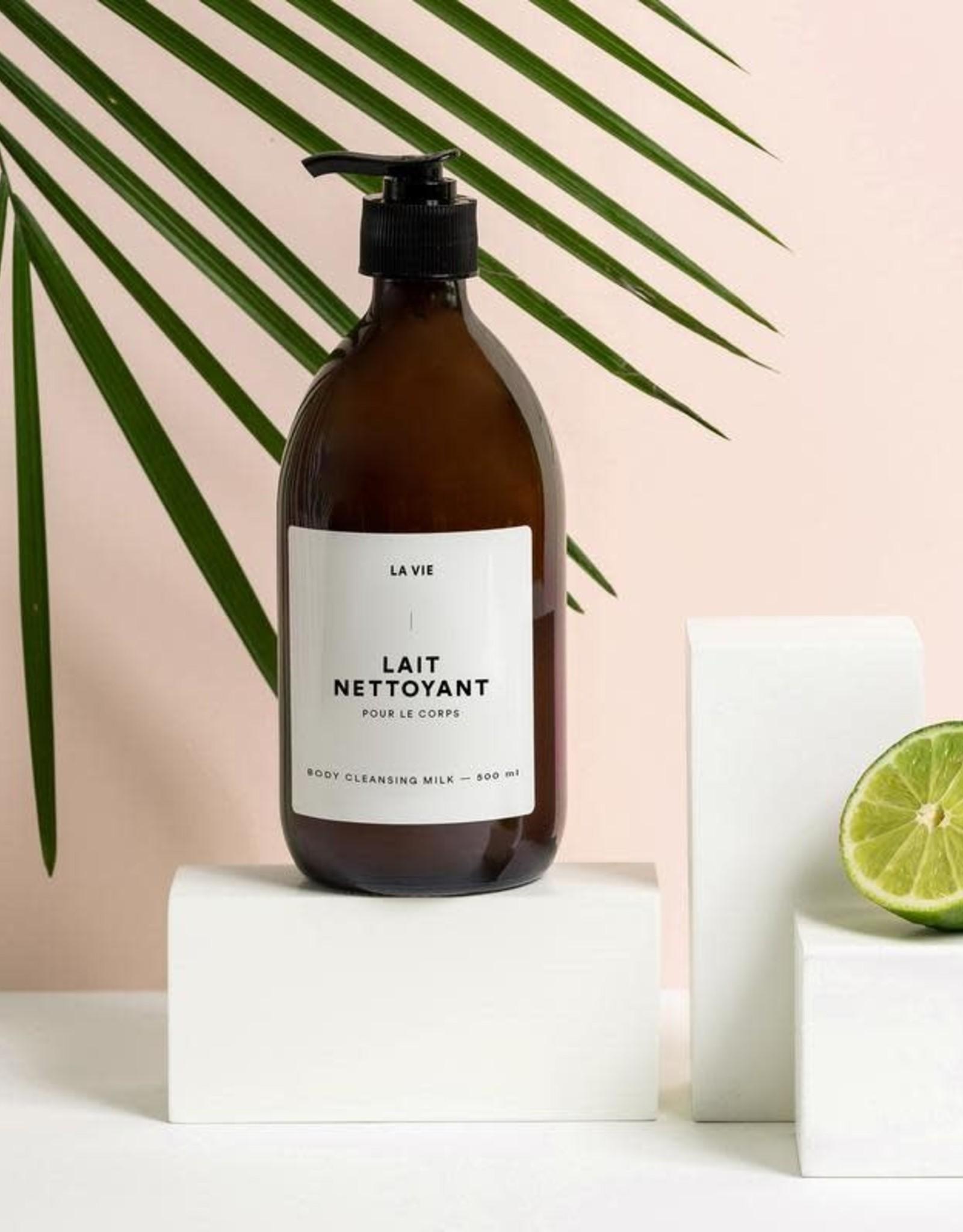 Atelier La Vie Apothicaire Lait Nettoyant Corps - Lime/Bergamote
