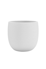 Pot Aura Blanc - 25 cm