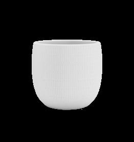 Aura Pot White - 25 cm