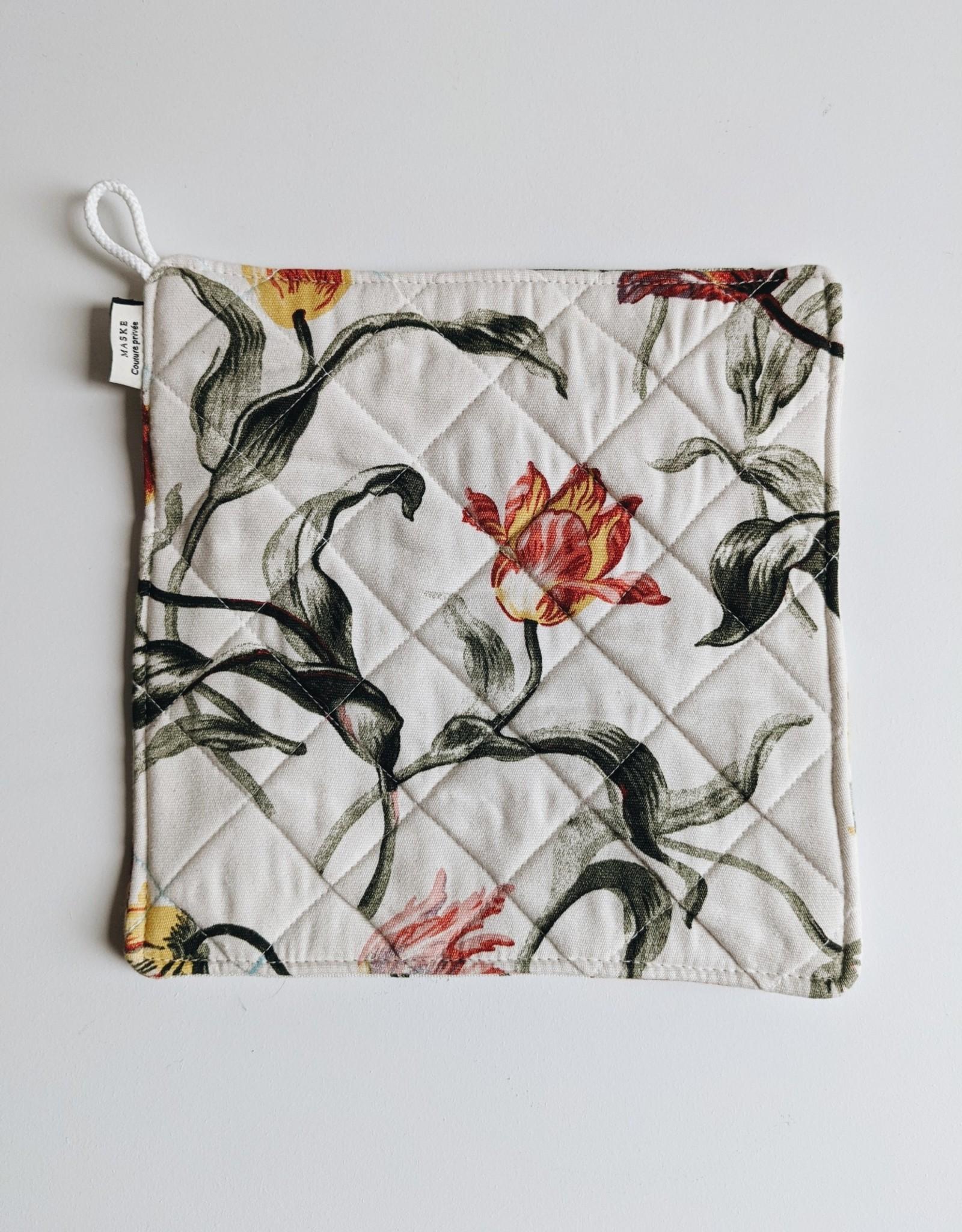 Maske Trivet -Flowers