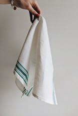 Maske Dishclothes Linen/Coton - Green