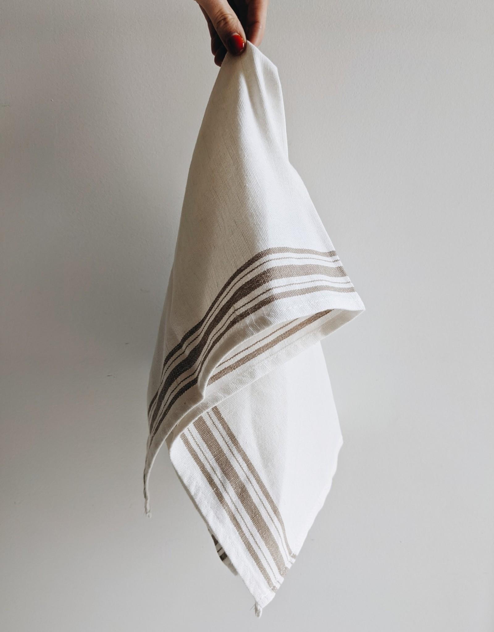 Maske Linge à Vaisselle Lin/Coton - Sable