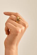 Pilgrim Reconnect Ring - Gold