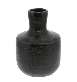 Homart Bottle Vase - Black