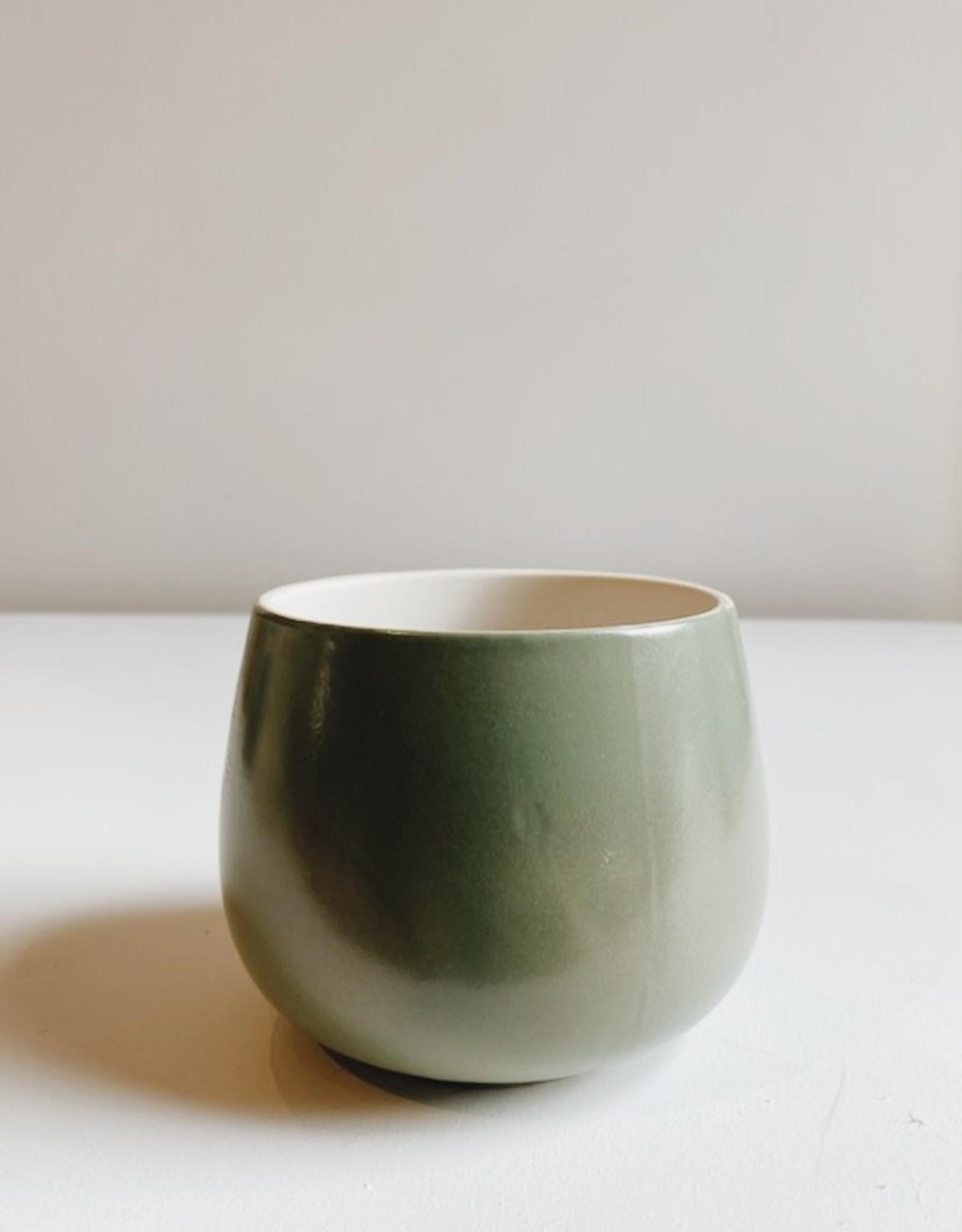 Smooth Ceramic Flower Pot