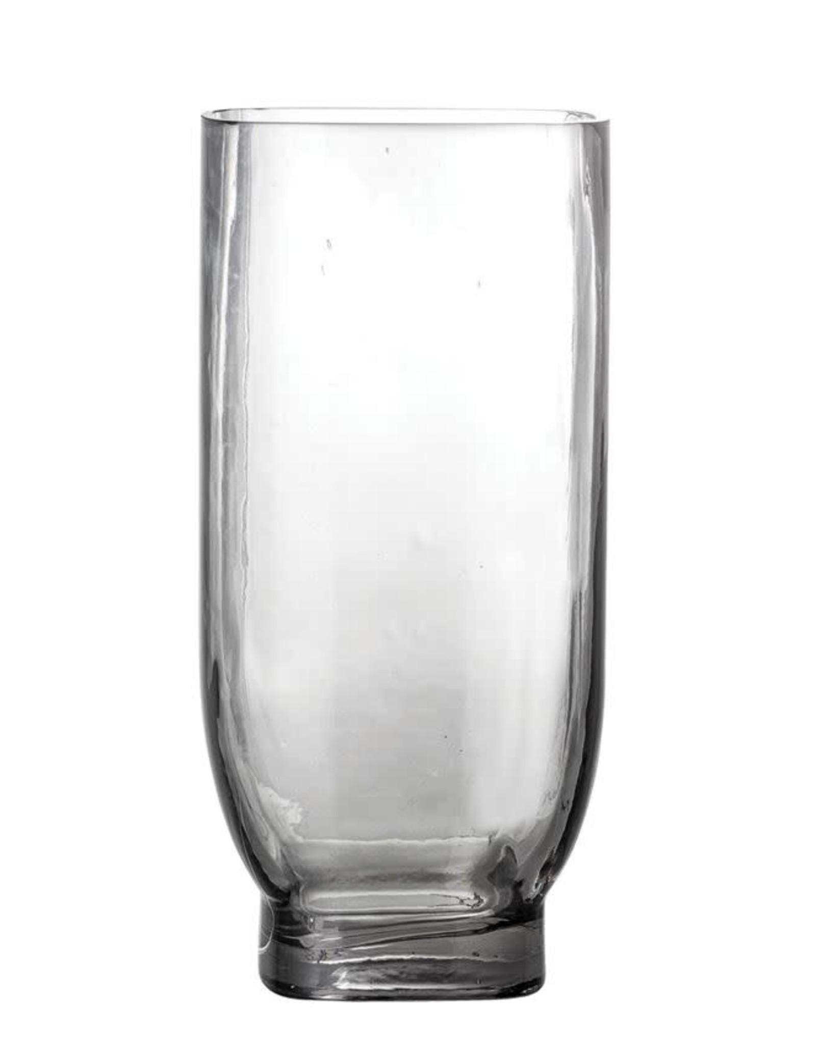 Glass Vase - Smoke Color