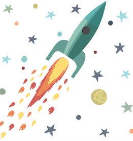 Tresxics Rocket and Stars Wall Sticker