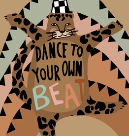 Wonder & Rah Affiche Dance To Your Own Beat