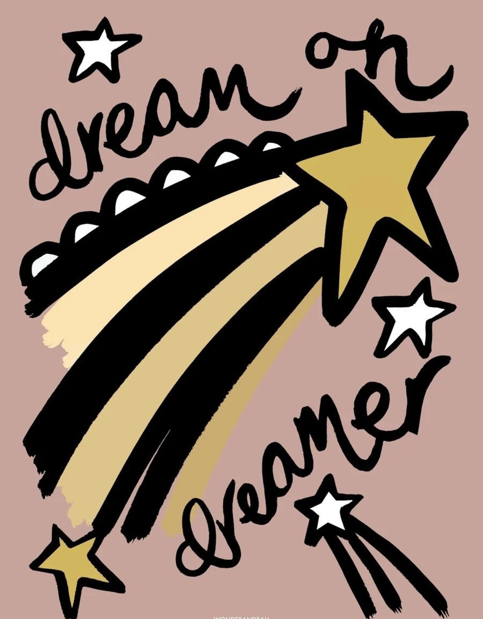 Wonder & Rah Dreamer Poster - Pink