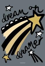 Wonder & Rah Dreamer Poster - Blue/Grey