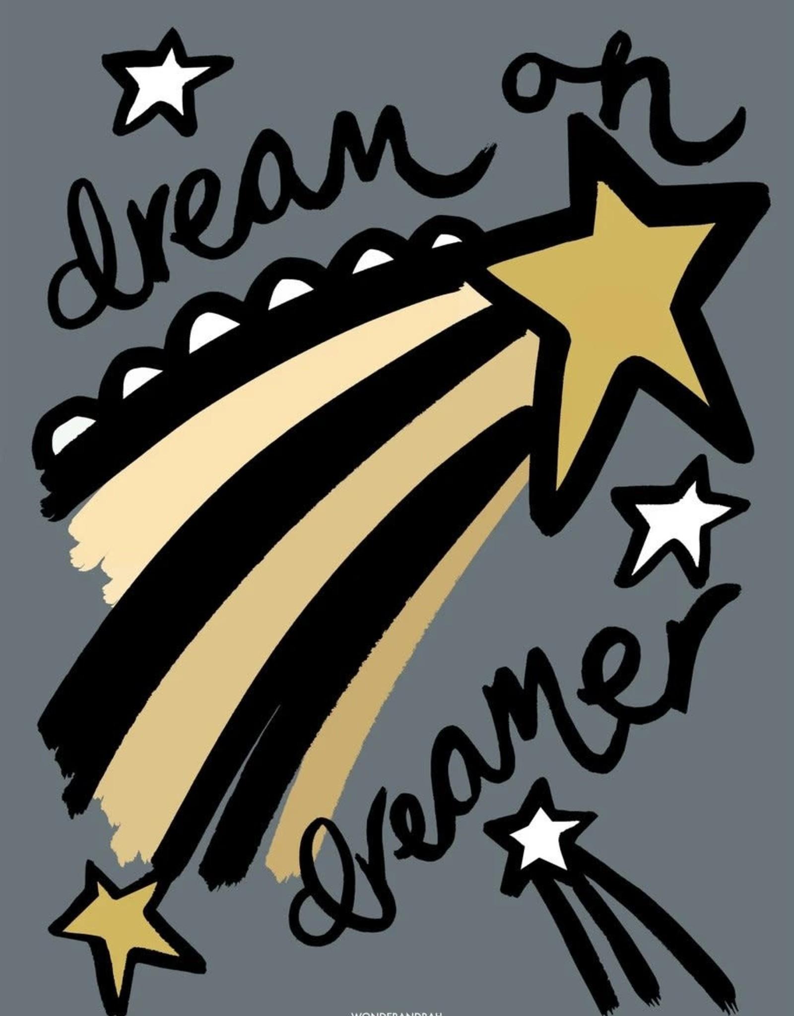 Wonder & Rah Affiche Dreamer - Gris/Bleu