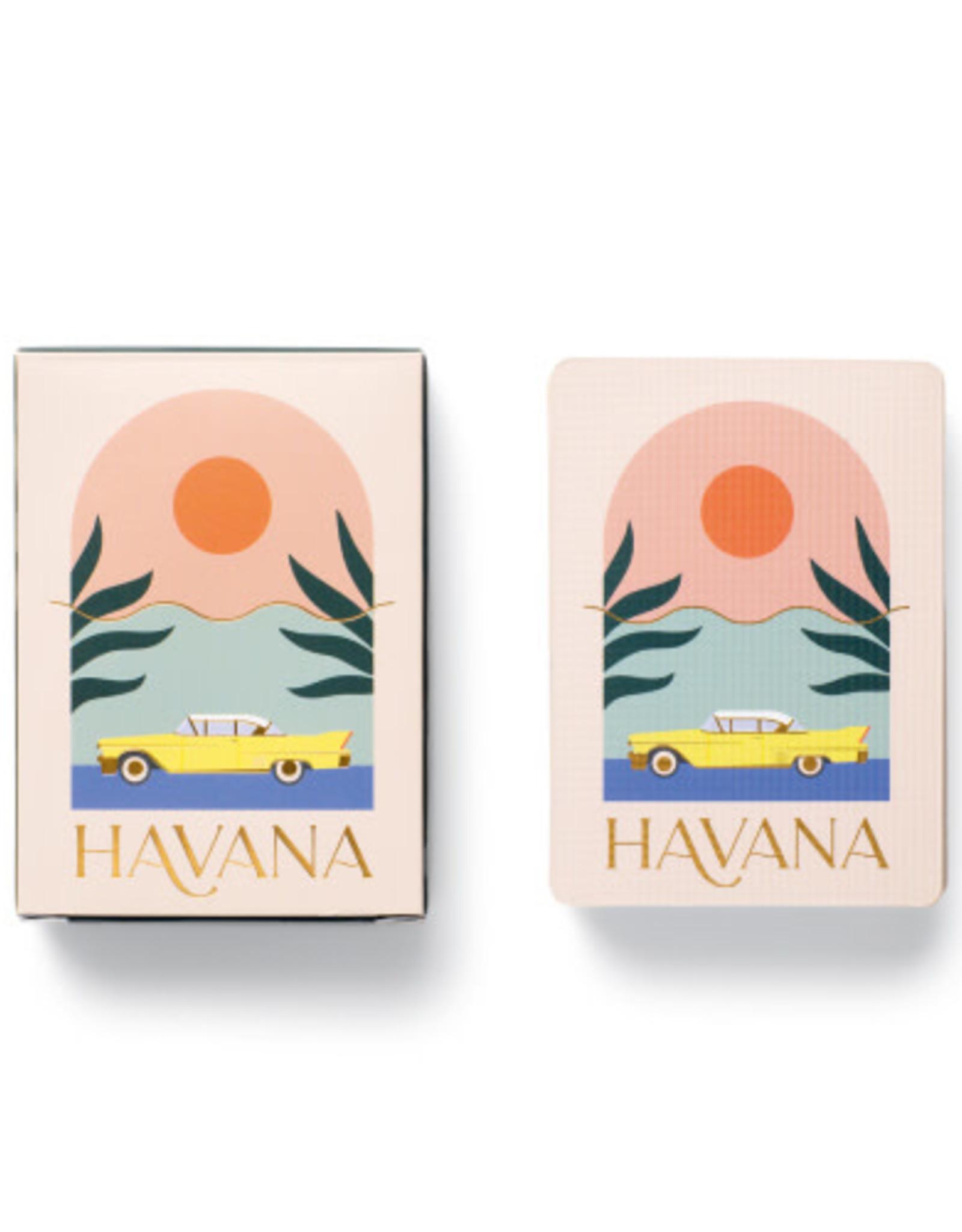 Designworks Ink Jeu de Cartes  - Havana Pêche