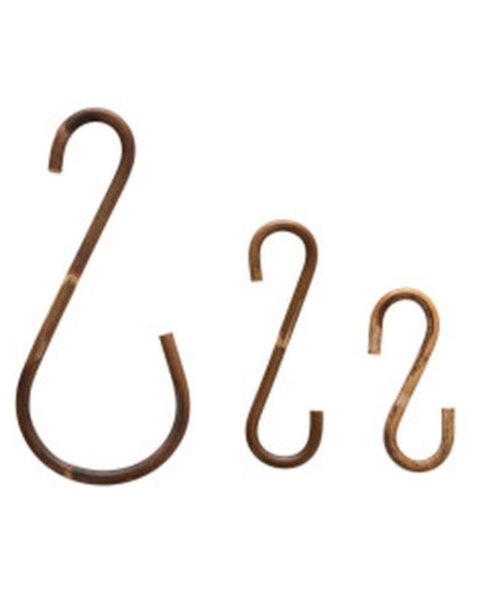 Rattan S-Hooks (Set of 3)