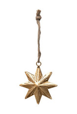 Star Ornament - Gold Finish