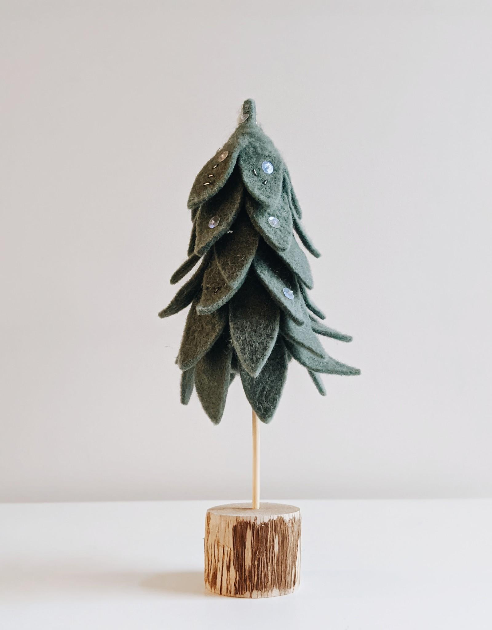 Wool Felt Tree