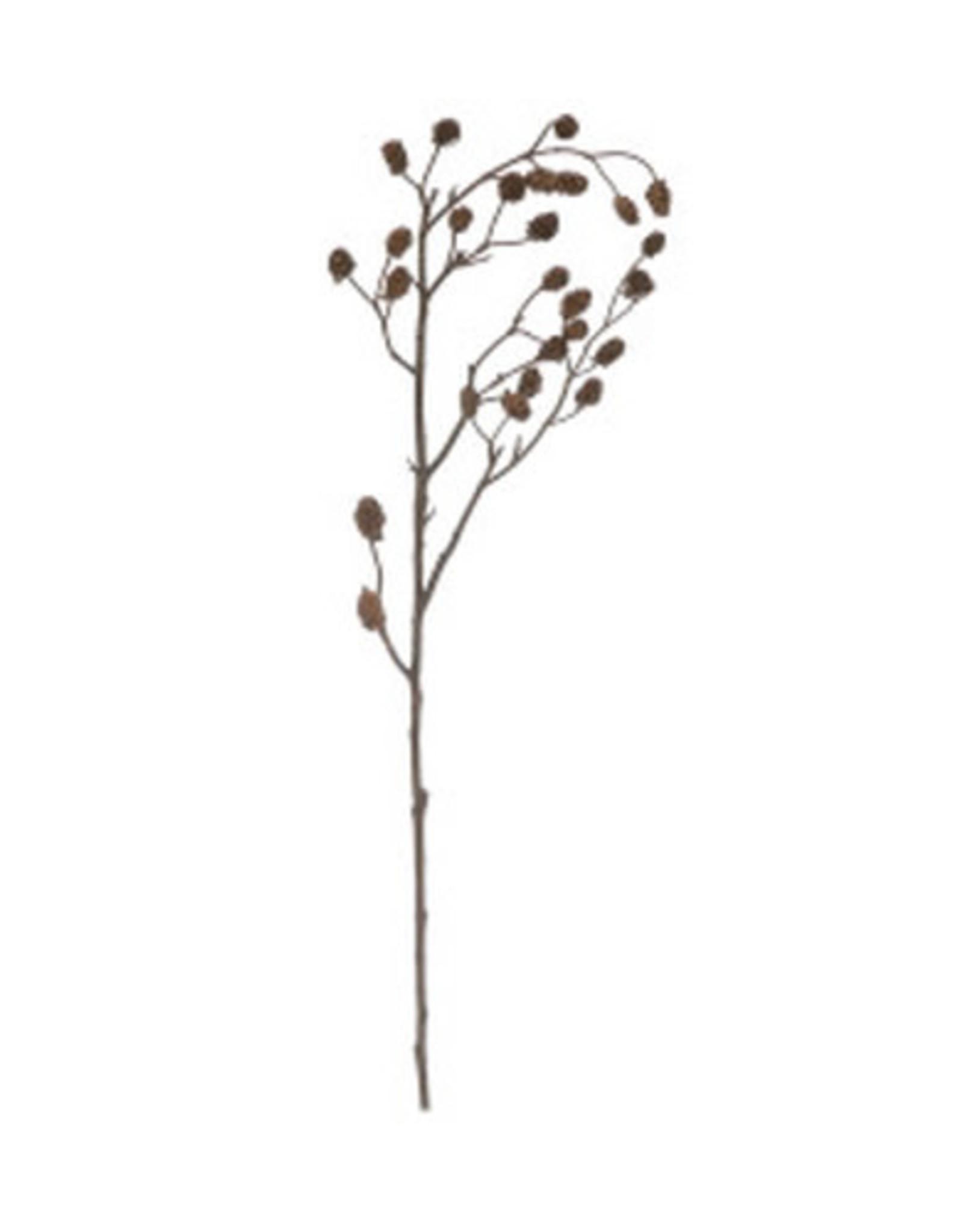 Faux Branch w/Pinecones