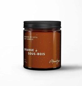 Moodgie Bougie de Soya - Orange & Sous-bois