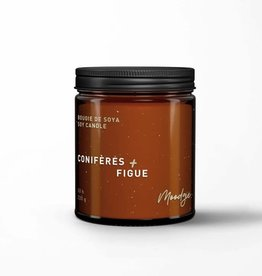 Moodgie Soy Candle - Conifers & Fig