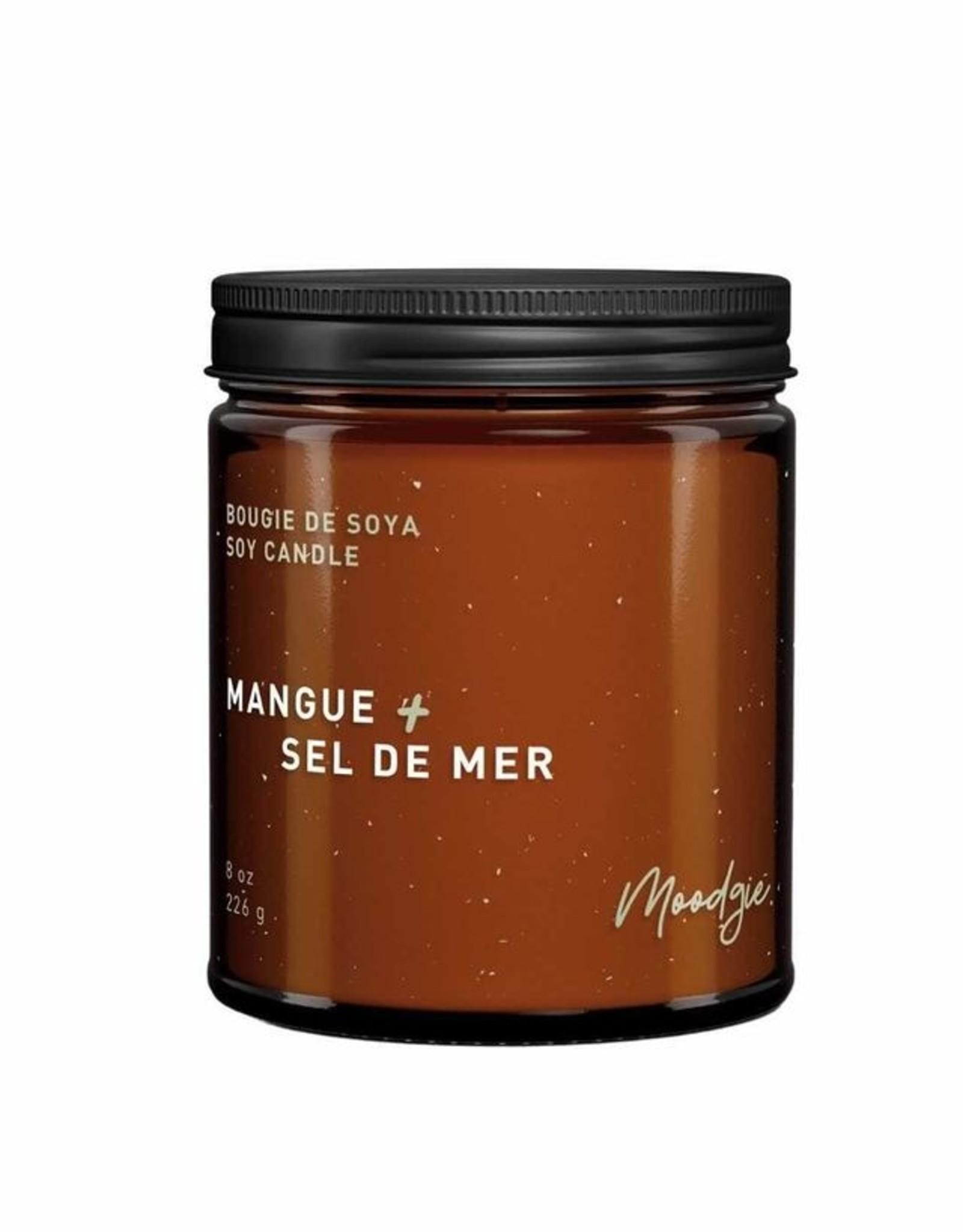 Moodgie Soy Candle - Mango & Sea salt