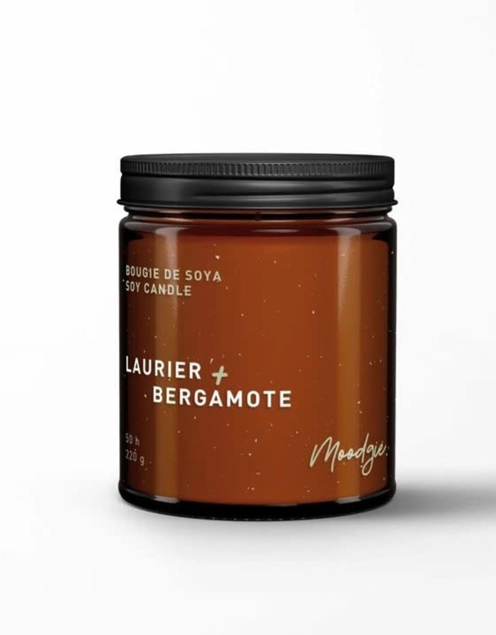 Moodgie Soy Candle - Laurel & Bergamot