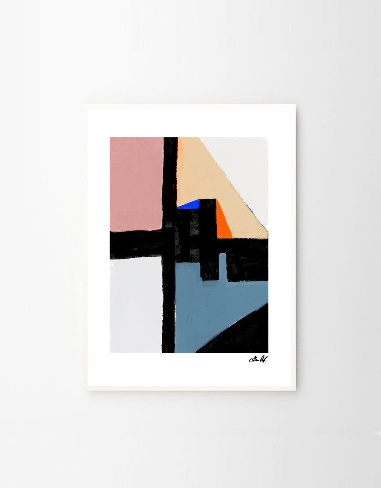 The Poster Club Kompromiss Print - by Estelle Graf 30x40cm