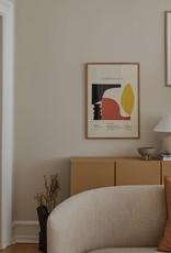 The Poster Club Le Sens de la Vie Print - by Lucrecia Rey Caro 70x100cm