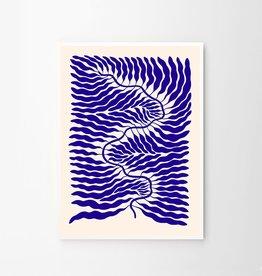 The Poster Club Affiche Little Blue par Linnéa Andersson - 50 x 70cm