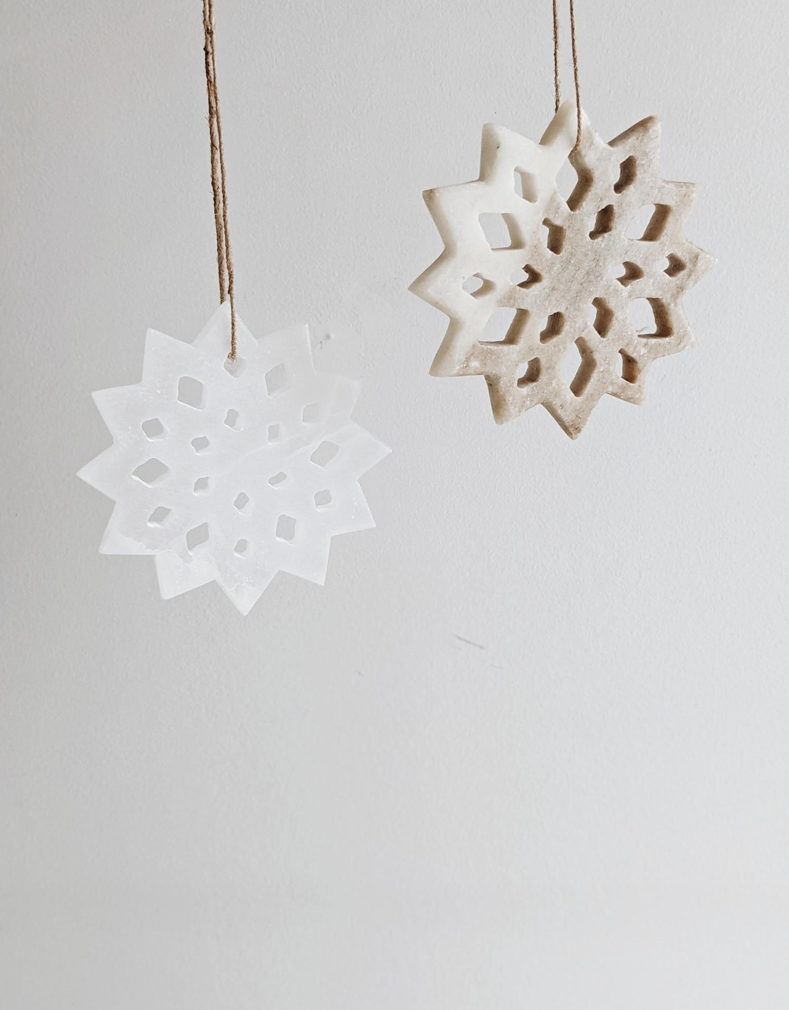 Snowflake Ornament - Choose the color